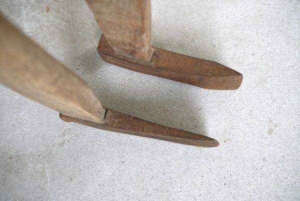 OT2233 斧 2本 刃幅約7.5cm/7.2cm ■製材道具/大工道具/薪割り/工具/古民具/古道具/山師/時代/スロデパ_画像10