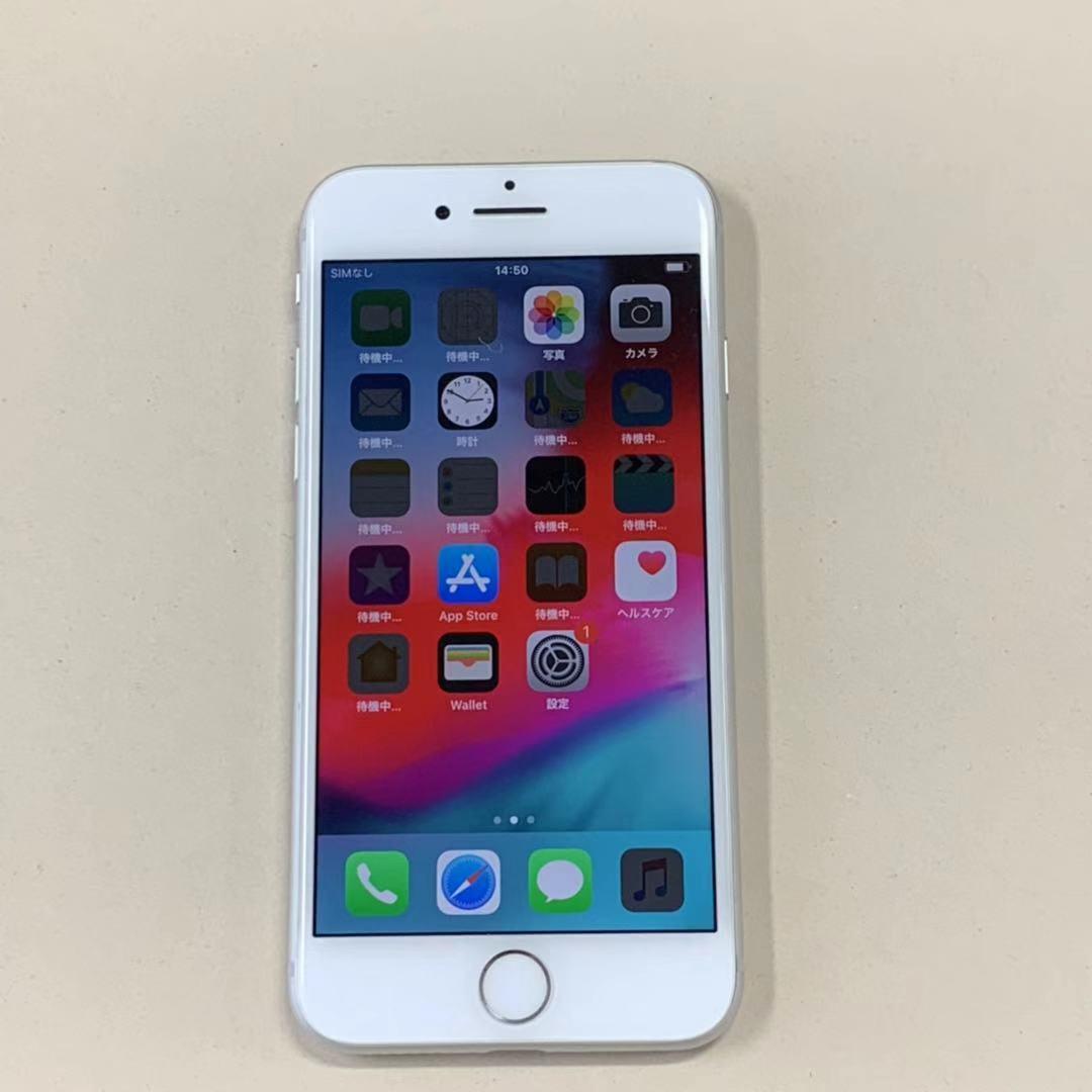 中古品 iPhone8 64GB シルバー SIMロック解除済み 訳あり 送料無料
