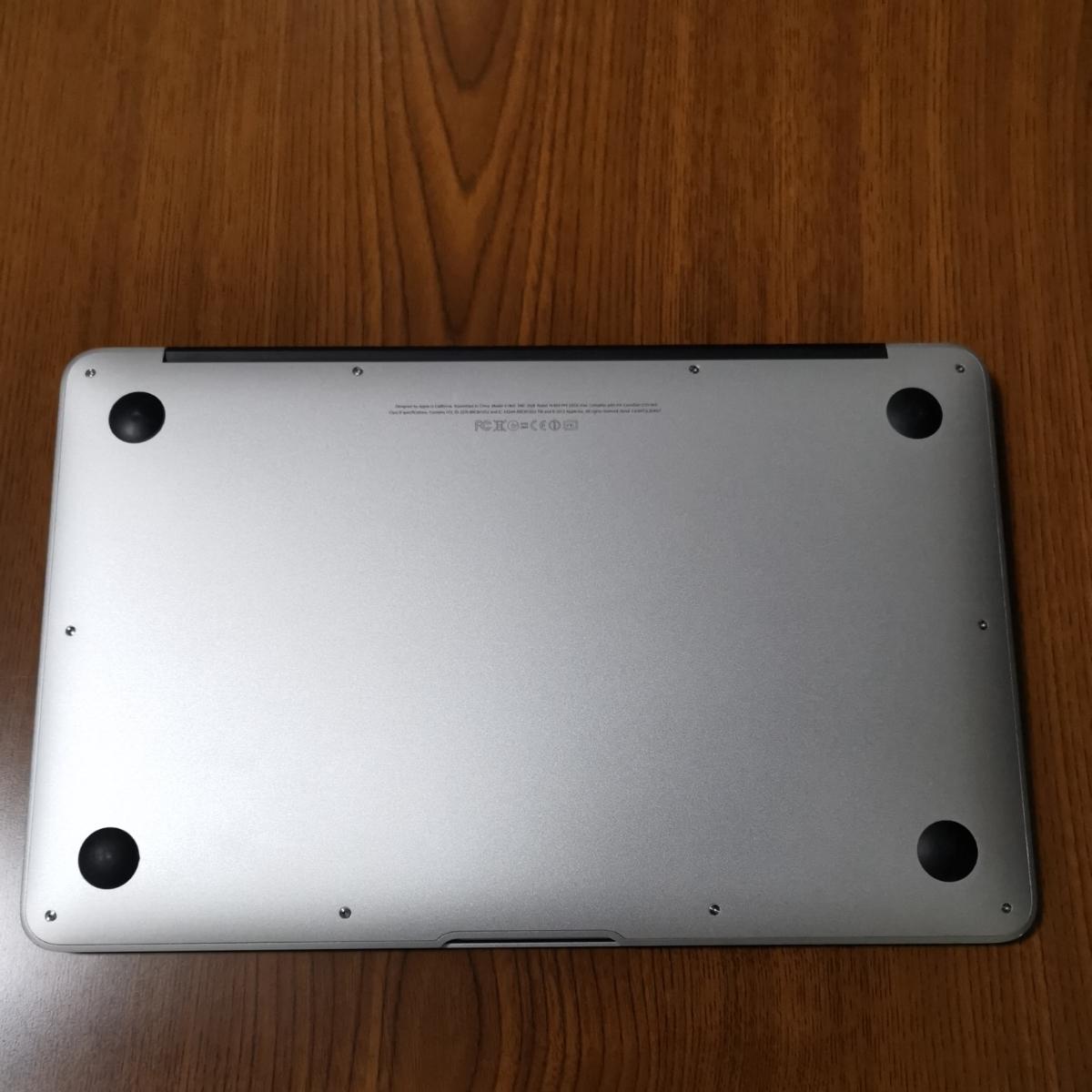 Apple MacBook Air 11インチ 2012 i5 4GB 128GB Mojave 動作確認済み 美品 Mac アップル SSD_画像5
