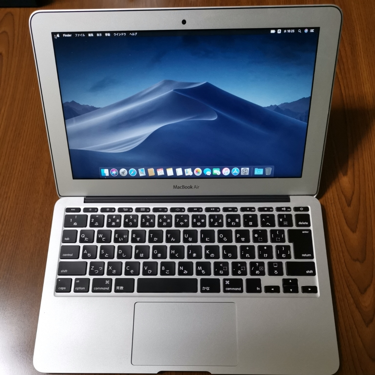 Apple MacBook Air 11インチ 2012 i5 4GB 128GB Mojave 動作確認済み 美品 Mac アップル SSD