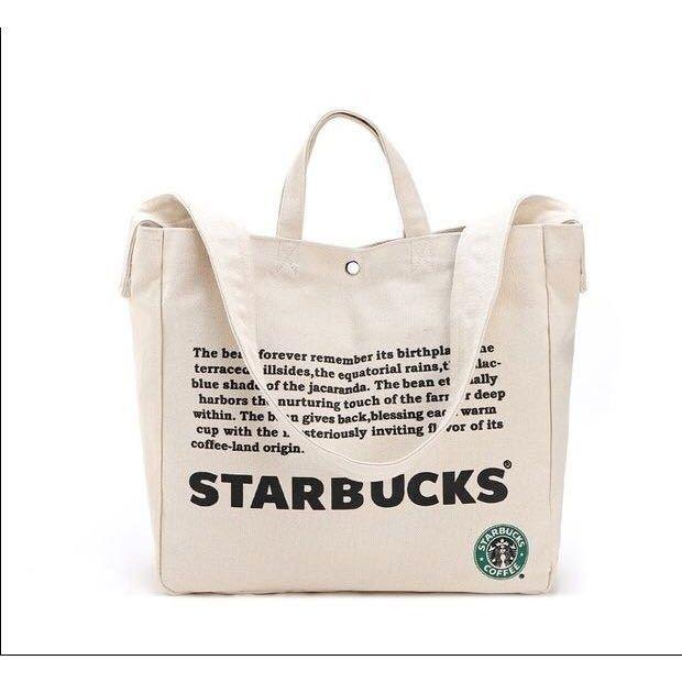 2WAY!台湾 スターバックス 韓国 中国 海外 トートバッグ ショルダーバッグ かばん 鞄 スタバ ポーチ A4 トラベルバッグ 旅行鞄 ロゴ大きめ_画像5