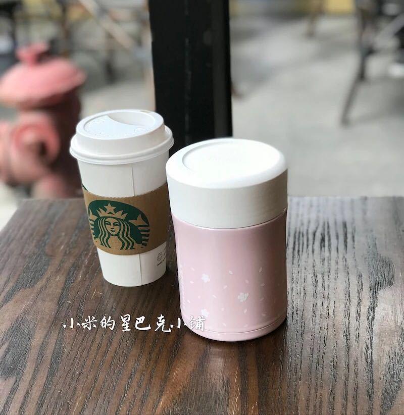 台湾 スターバックス 韓国 中国 海外 タンブラー マグカップ 桜 サーモス フードジャー スープジャー ステンレスボトル スプーン付 離乳食_画像2