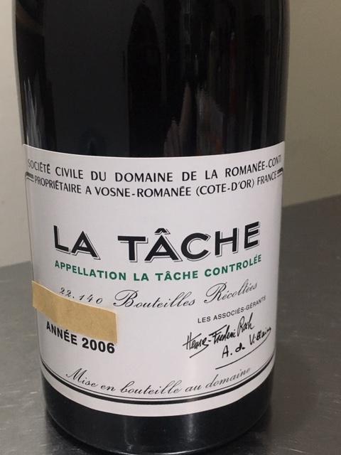 DRC LA TACHE 2006 ラ・ターシュ ロマネコンティ社