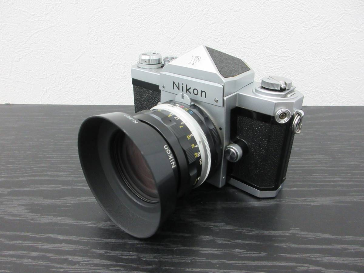 ◆【Y2834】Nikon ニコン F フィルム一眼レフカメラ レンズ3点セット_画像3