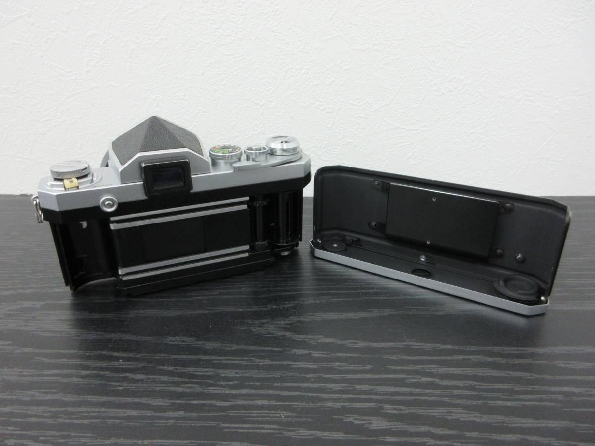 ◆【Y2834】Nikon ニコン F フィルム一眼レフカメラ レンズ3点セット_画像6