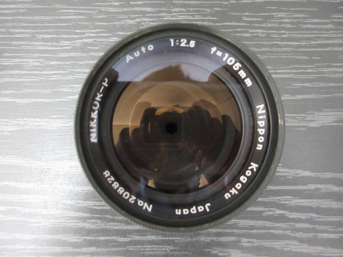 ◆【Y2834】Nikon ニコン F フィルム一眼レフカメラ レンズ3点セット_画像9