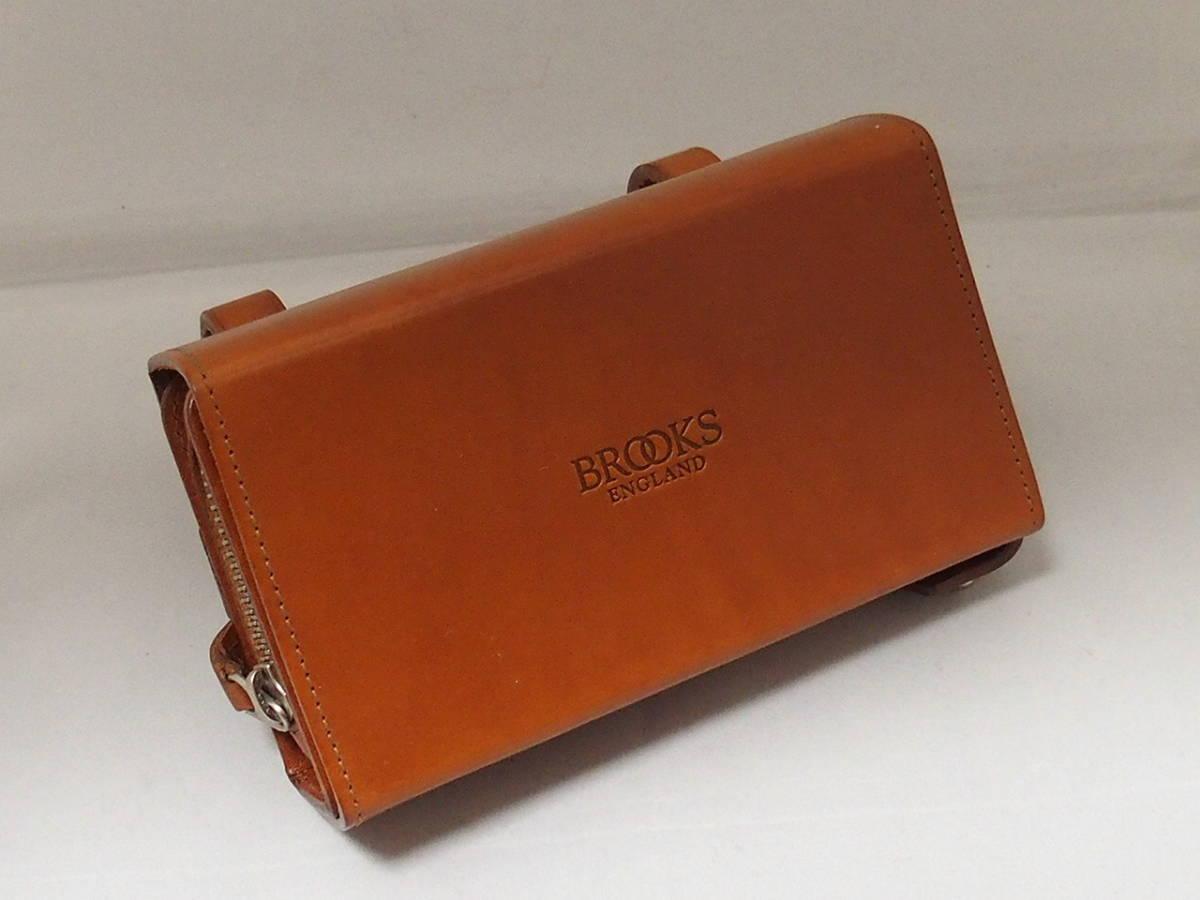 7a0cc5167d free shipping! Brooks BROOKS[D-SHAPED TOOL BAG] saddlebag used good ...