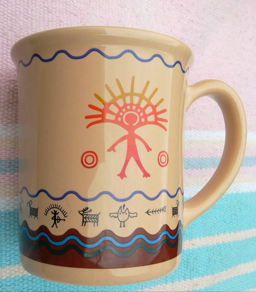ペンドルトン マグ カップ Pendleton Spirit Quest おしゃれ キャンプ アメリカ ビンテージ チマヨ ネイティブ アメリカン インディアン_画像2