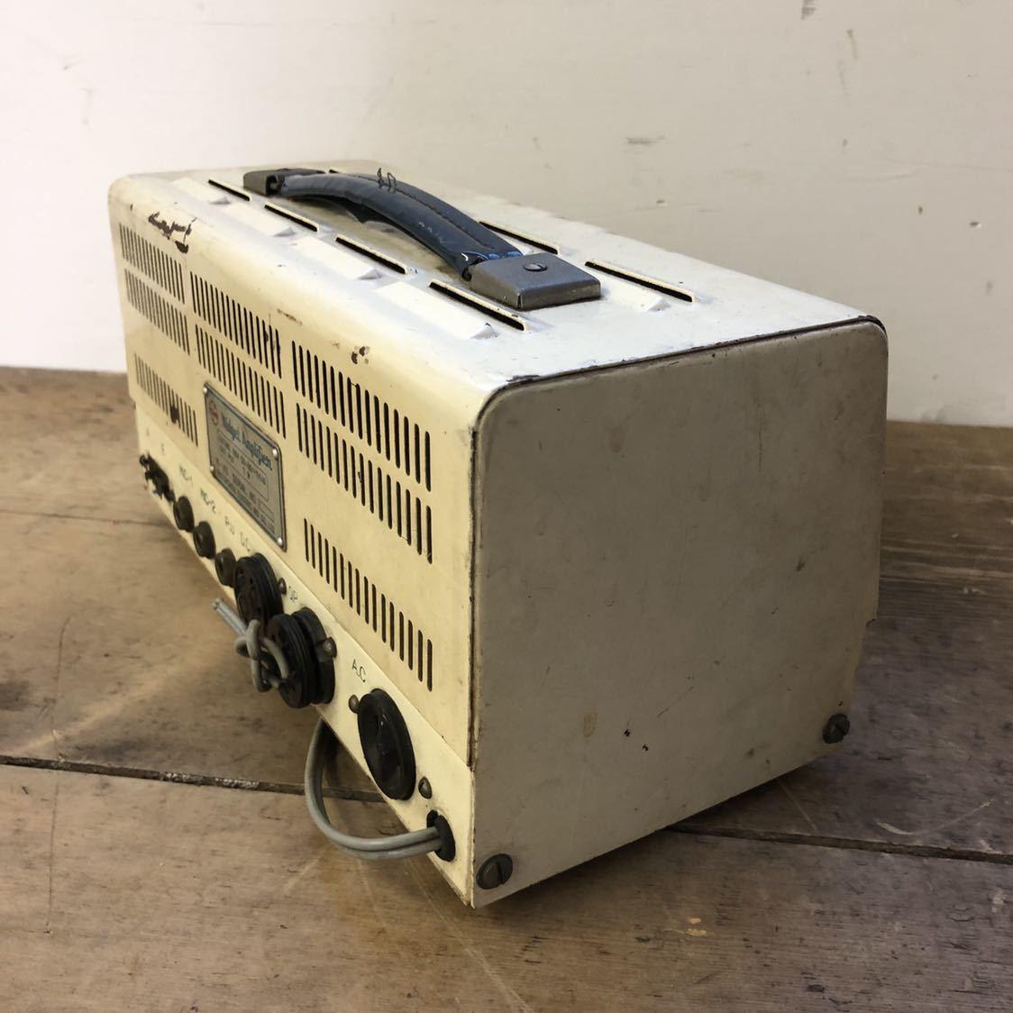 【ジャンク】 ナショナル 真空管 アンプ ラジオ midget amplifier ミッドナイト レトロ 昭和 アンティーク ヴィンテージ 部品取り_画像7