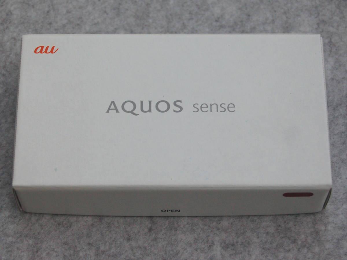 ★au 新品未使用 SHARP(シャープ) AQUOS sense スマートホン SHV40SGA Opal Green☆_画像2