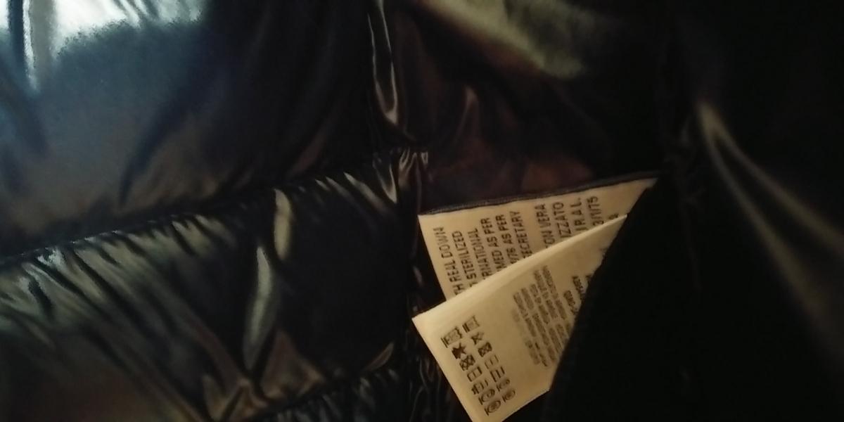 新品未使用・タグ付・値下★モンクレール ジュニア モカ 12A ネイビー★HERMINE 0・00相当_画像7