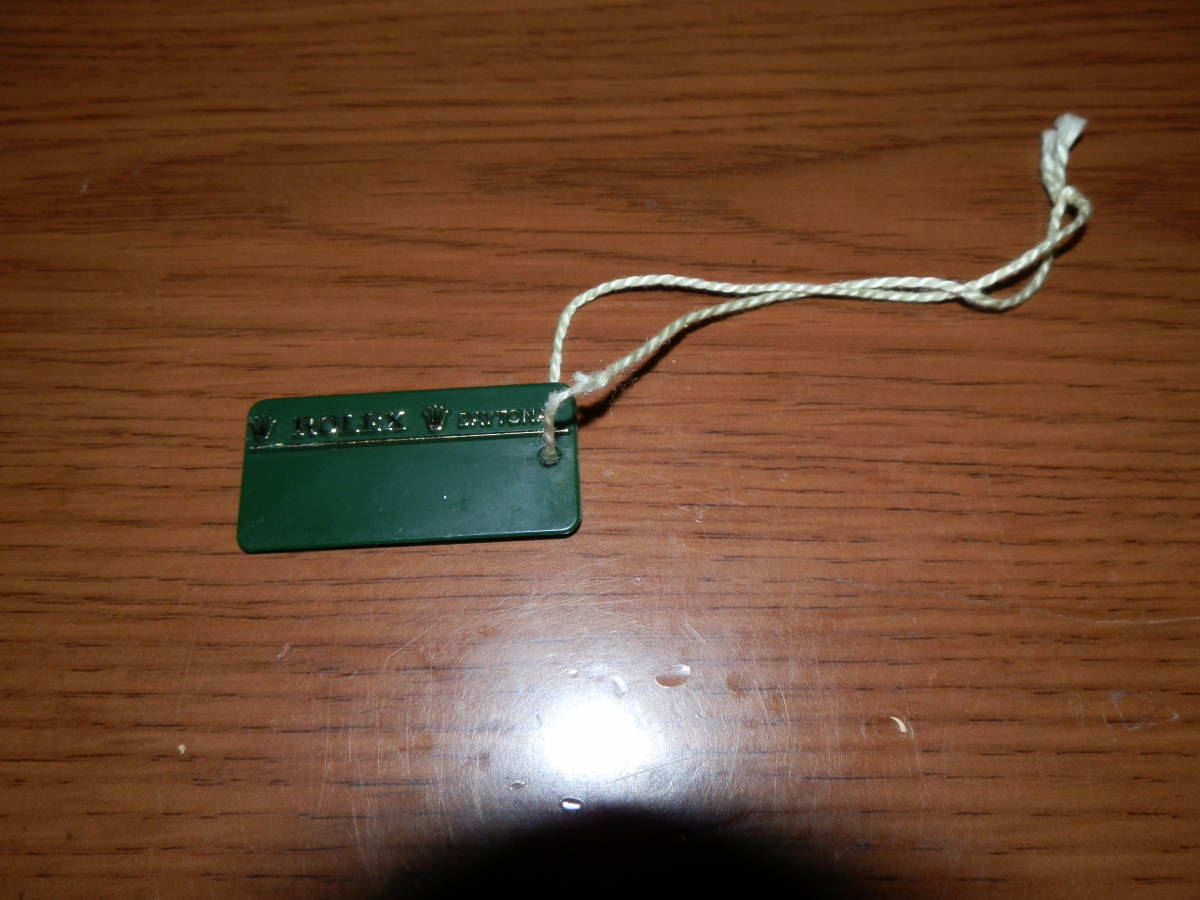 大幅最終値下げ!! 送料無料【USED】ROLEX イエローシェル DAYTONA 116523 のタグ