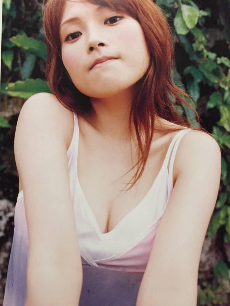 古本 帯なし 写真集 ecru エクリュ 安倍なつみ DVD付 Natsumi Abe 撮影:熊谷貫 アイドル モーニング娘。 モー娘 水着 浴衣 送料¥188~_画像3