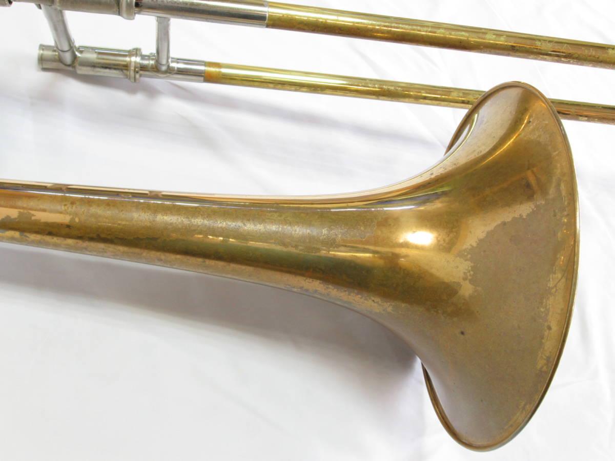 ヤマハ yamaha トロンボーン テナーバス YSL-8425G シモクラオリジナル 中古管楽器_画像5