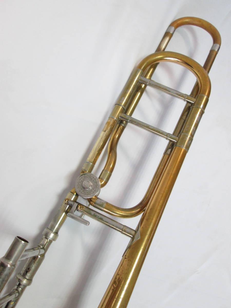 ヤマハ yamaha トロンボーン テナーバス YSL-8425G シモクラオリジナル 中古管楽器_画像3