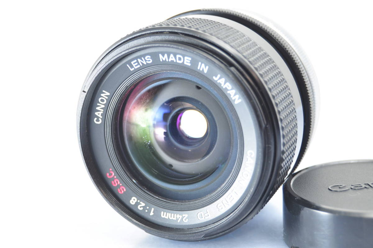 exterior finest quality * Canon CANON FD 24mm F2 8 SSC *  meaning