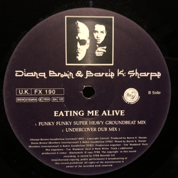 Diana Brown & Barrie K Sharpe / Eating Me Alive_画像3
