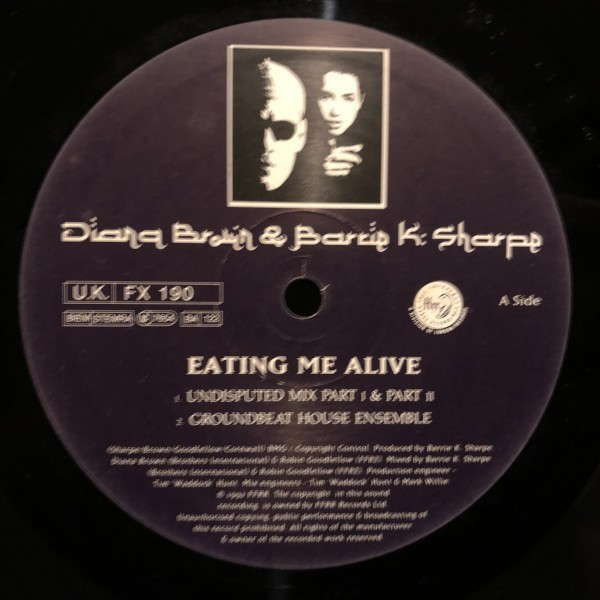 Diana Brown & Barrie K Sharpe / Eating Me Alive_画像2
