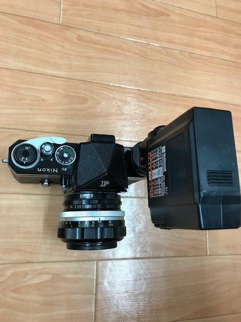 【6116】 ニコン Nikon F ブラック フィルムカメラ NIKKOR-S Auto 1:1.2 f=55mm_画像3