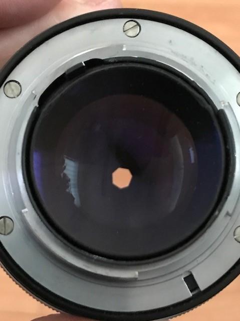 【6116】 ニコン Nikon F ブラック フィルムカメラ NIKKOR-S Auto 1:1.2 f=55mm_画像9