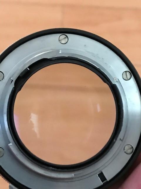 【6116】 ニコン Nikon F ブラック フィルムカメラ NIKKOR-S Auto 1:1.2 f=55mm_画像10