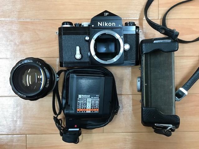 【6116】 ニコン Nikon F ブラック フィルムカメラ NIKKOR-S Auto 1:1.2 f=55mm_画像2
