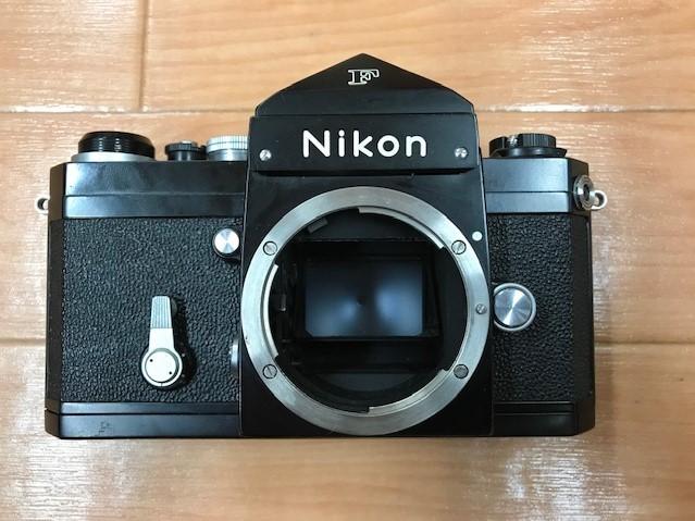 【6116】 ニコン Nikon F ブラック フィルムカメラ NIKKOR-S Auto 1:1.2 f=55mm_画像4