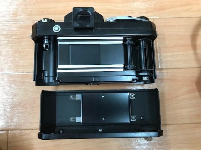 【6116】 ニコン Nikon F ブラック フィルムカメラ NIKKOR-S Auto 1:1.2 f=55mm_画像5