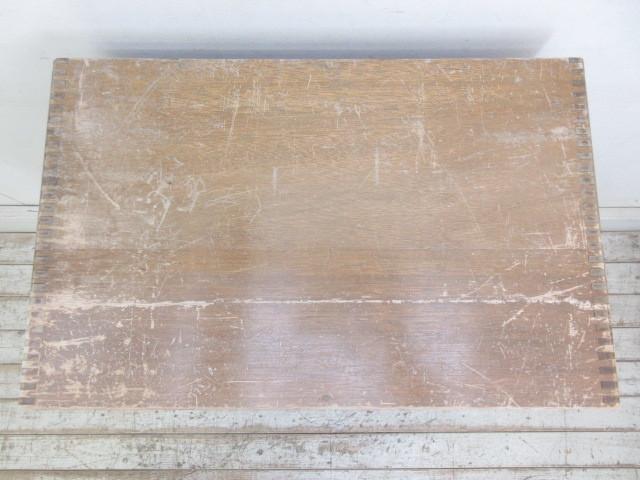 古い10杯引出し糸ケースH356  アンティークアトリエ店舗什器陳列棚カフェ什器古家具_画像4