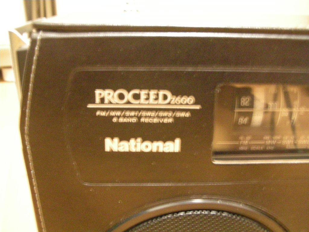 ナショナル PROCEED2600 RF-2600 ラジオ_画像2