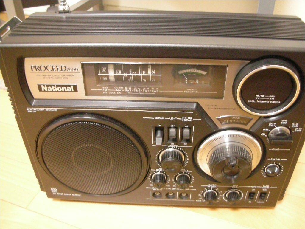 ナショナル PROCEED2600 RF-2600 ラジオ_画像6