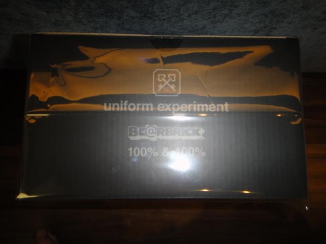 BE@RBRICK uniform experiment 100% 400% fragment MEDICOM TOY UE STAR ベアブリック 星 コラボ ユニフォームエクスペリメント fcrb_画像3