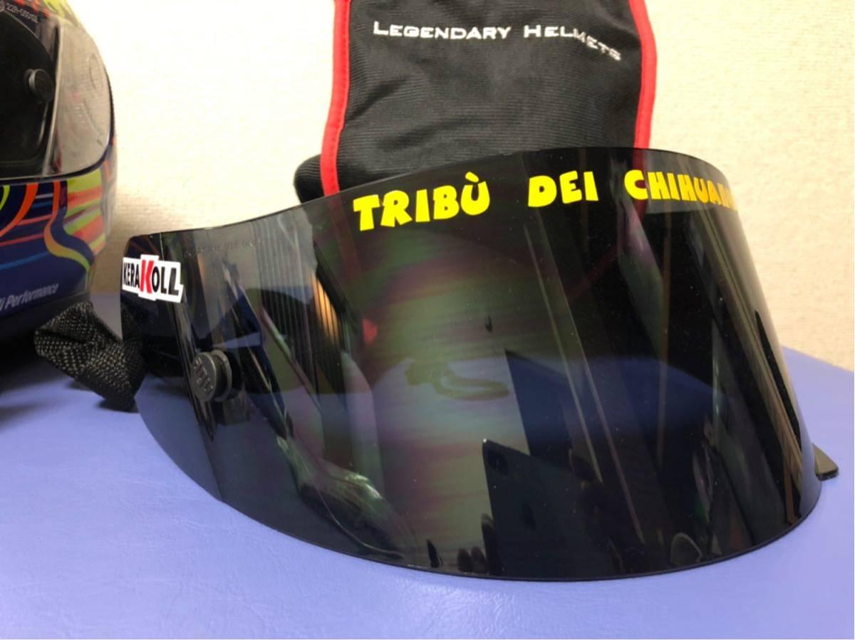 バレンティーノ・ロッシ直筆サイン入りヘルメット世界限定46個(証明書付き)_画像9