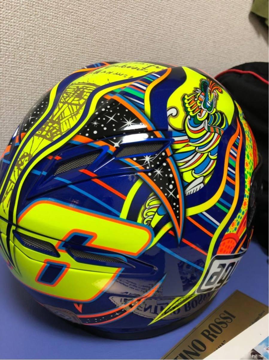 バレンティーノ・ロッシ直筆サイン入りヘルメット世界限定46個(証明書付き)_画像4