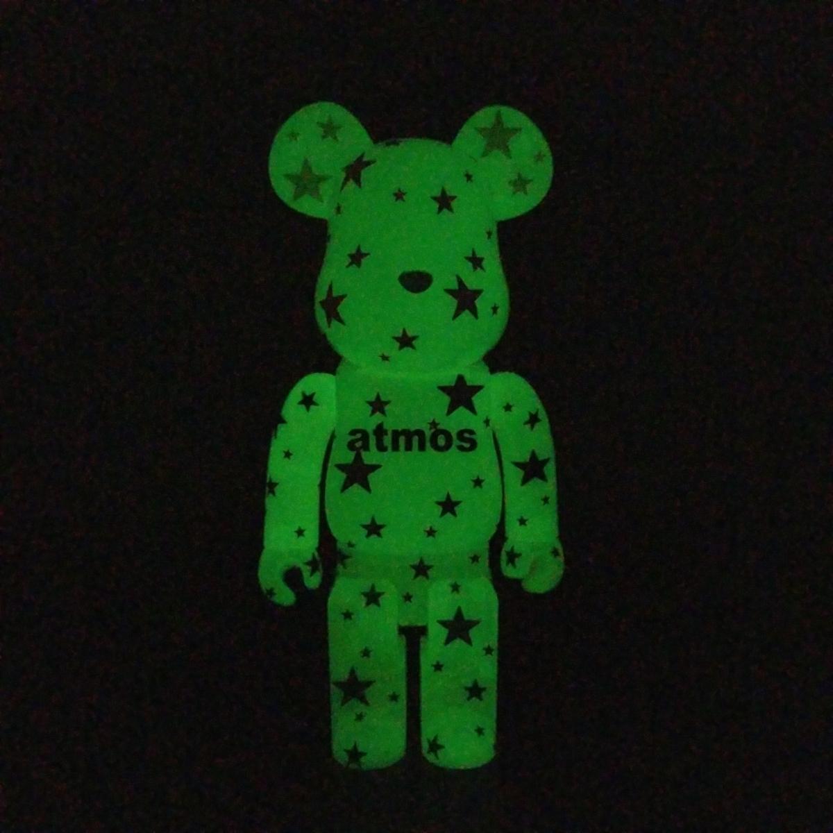 ベアブリック 400% BE@RBRICK アトモス 蓄光タイプ atmos white メディコムトイ 蓄光_画像10