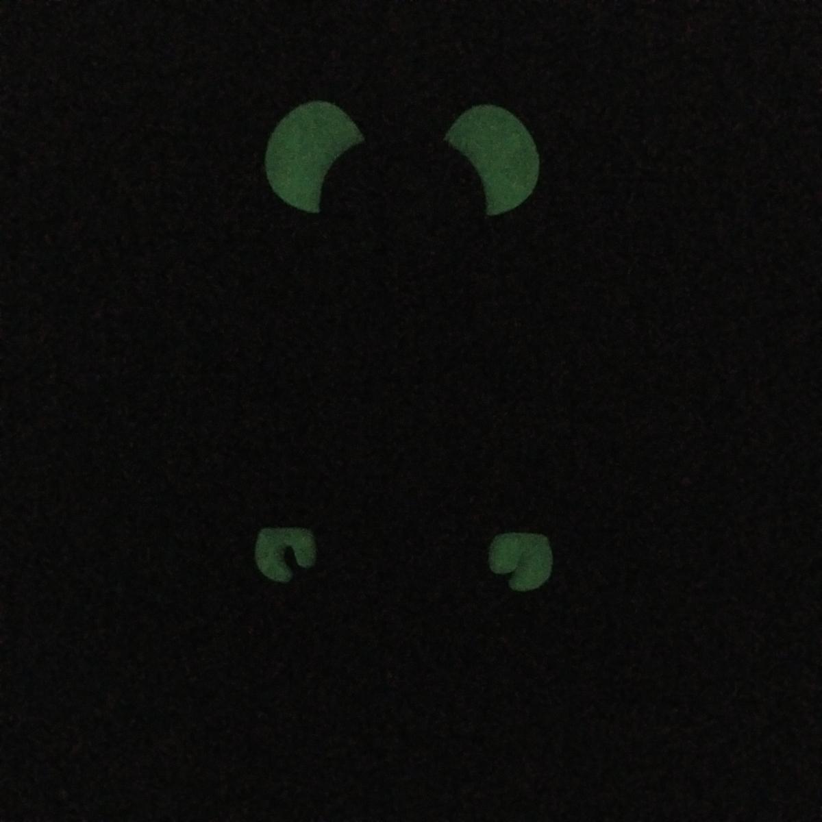 メディコムトイ BE@RBRICK ベアブリック アトモス atmos 10周年記念モデル 400% フロッキー 蓄光_画像10