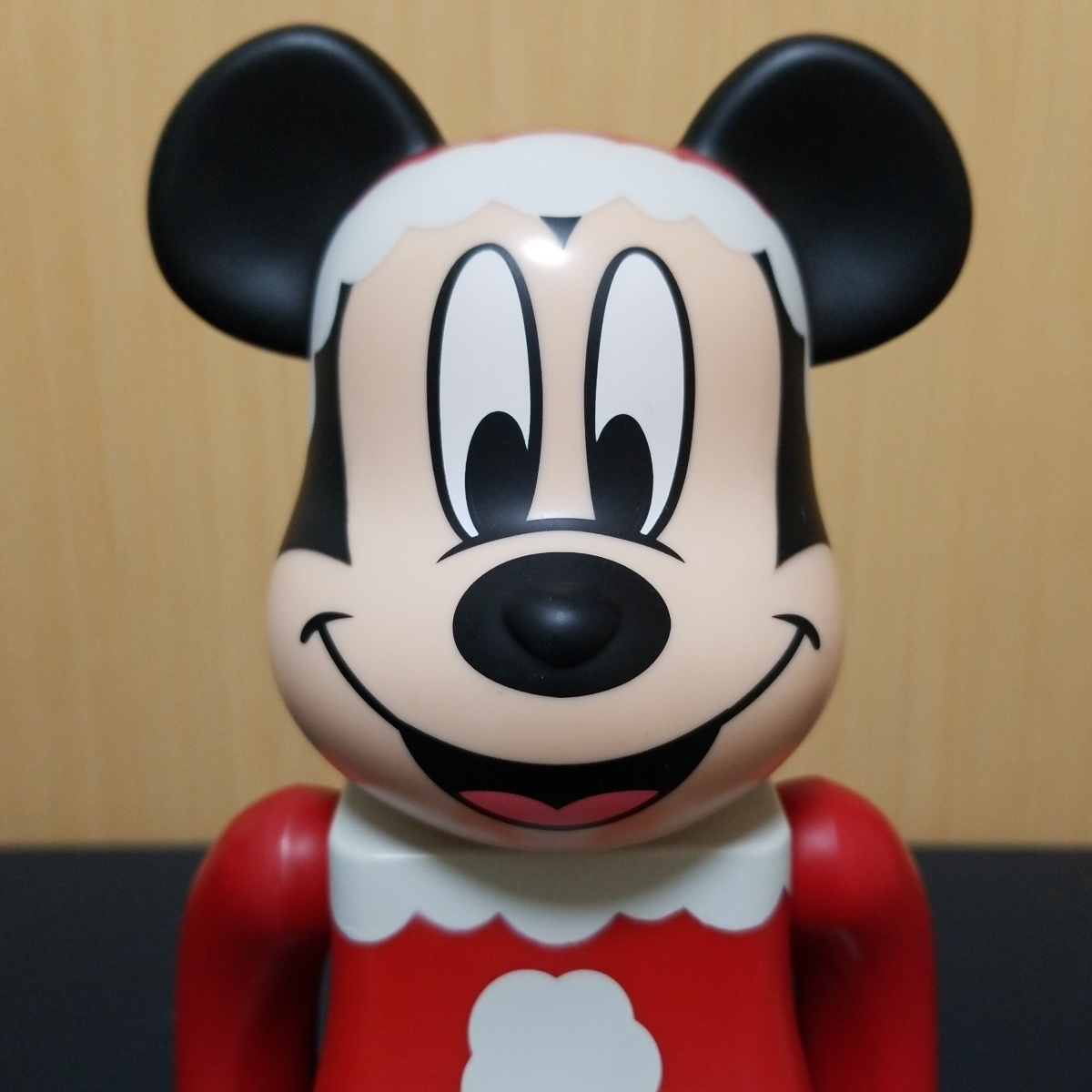 MEDICOM TOY メディコムトイ BE@RBRICK ベアブリック ミッキーマウス サンタver 特賞 400% サンタクロース_画像2