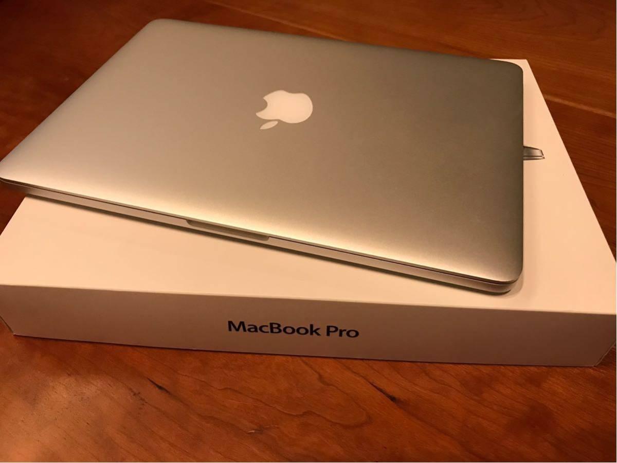 ★★ MacBook Pro (13-inch Mid 2014)  Core i5  2.6GHz  メモリー 16GB  SSD 256GB MGX82J/A ★美品★★