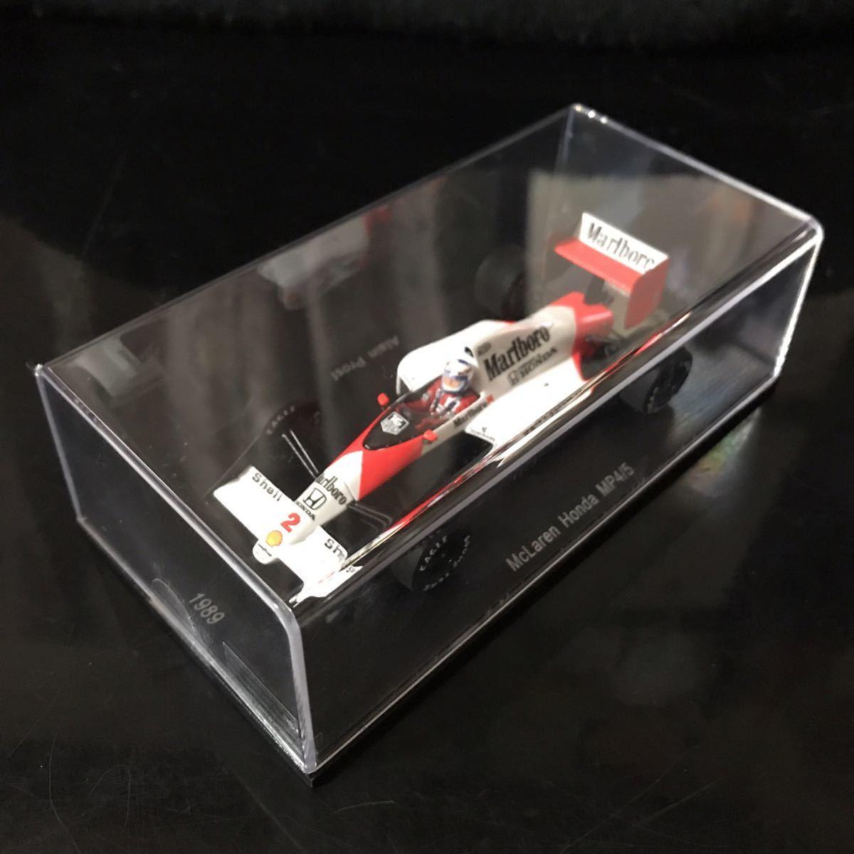 ES別注 スパーク 1/43 ホンダ マールボロ マクラーレン MP4/5 #2 A.プロスト 1989 ワールドチャンピオン マルボロ仕様_画像9