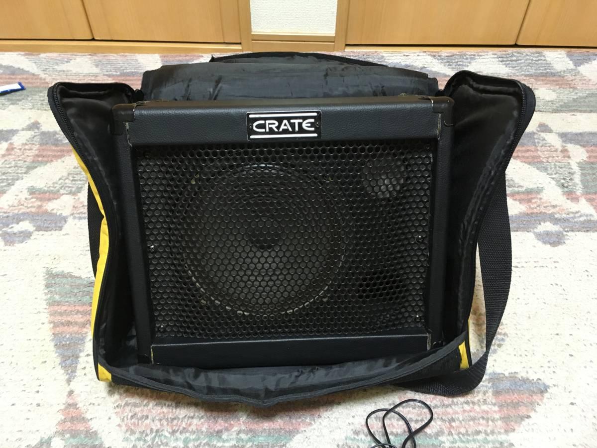 CRATE TX15 ギターアンプ TX15・TX30用ケース付き 中古 動作品 送料別_画像2