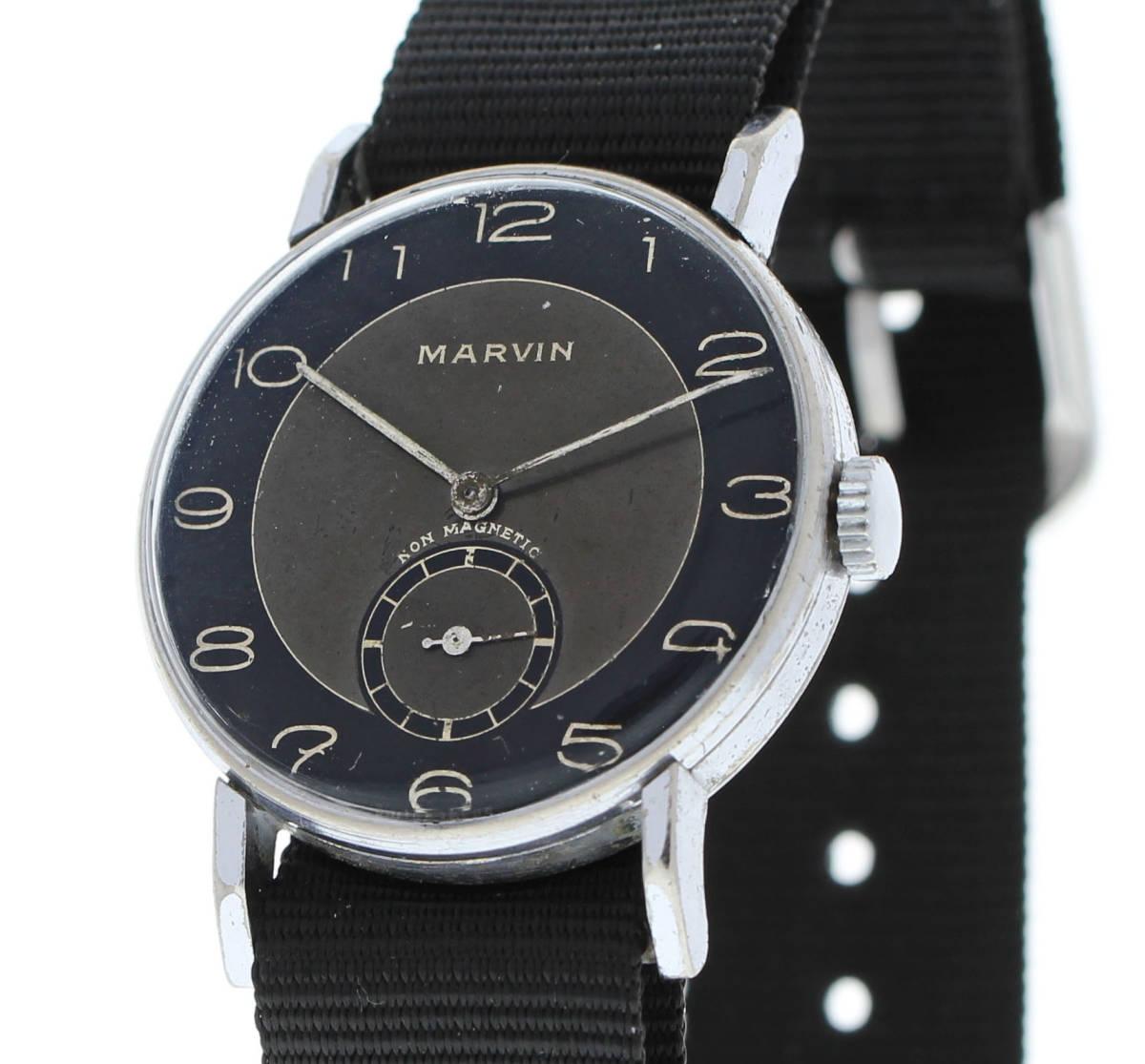 値下げ交渉あり!ヴィンテージ1930年代製MARVINマーヴィン手巻きウォッチ_画像3