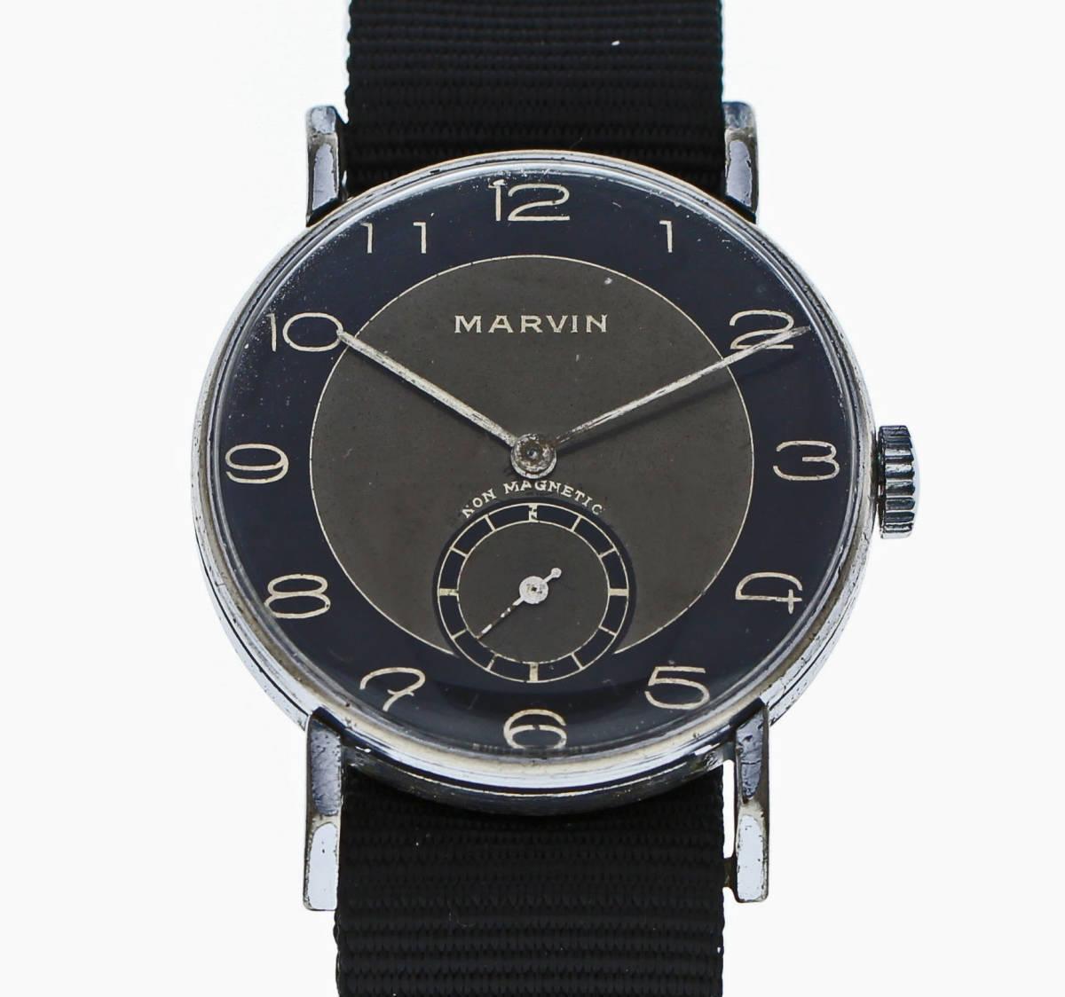 値下げ交渉あり!ヴィンテージ1930年代製MARVINマーヴィン手巻きウォッチ_画像1