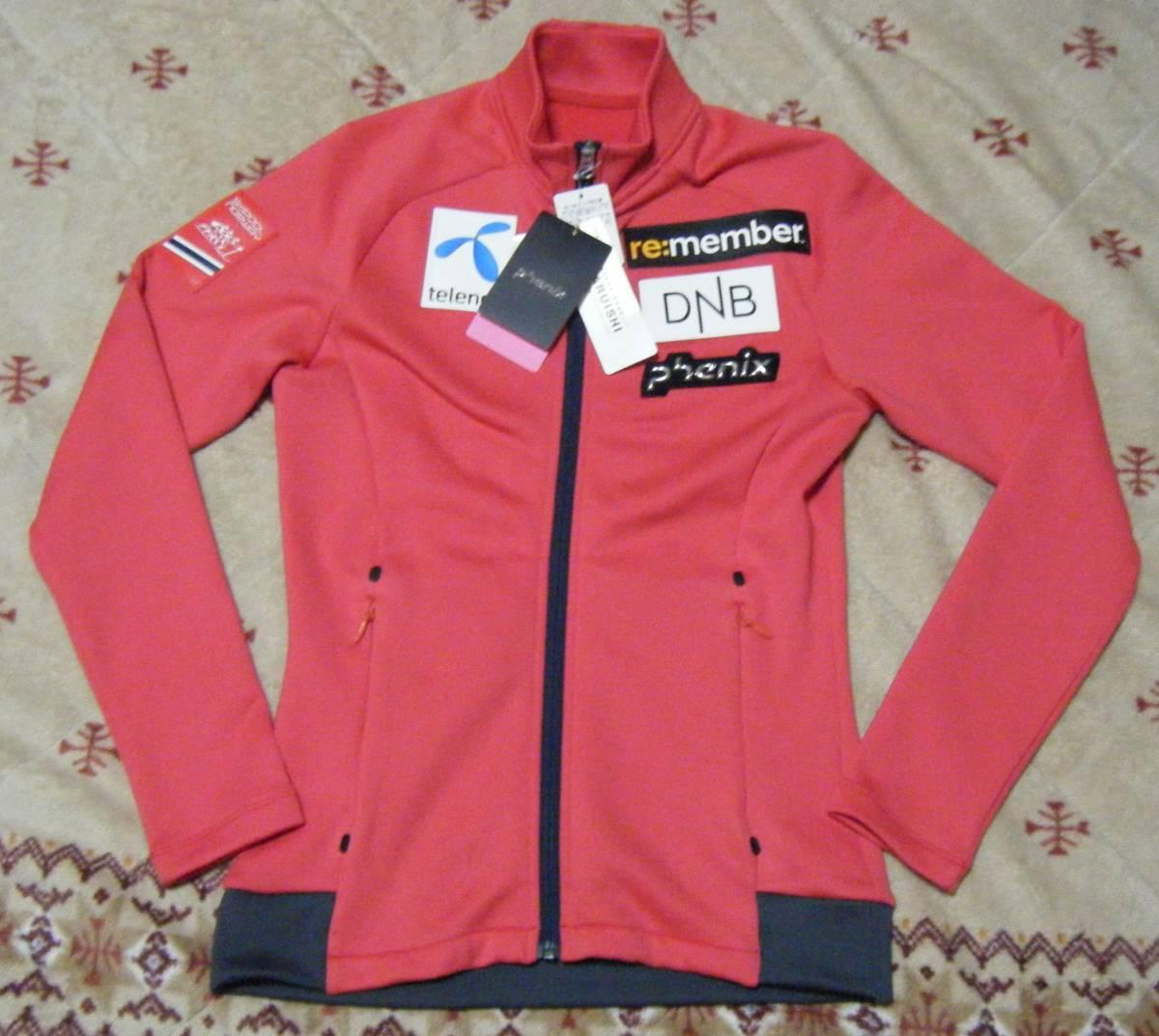 フェニックス phenix Air Light Women's Fleece 高機能フリースジャケット・ミドラー サイズ L スポンサーワッペン付 定価 23,760円_画像1
