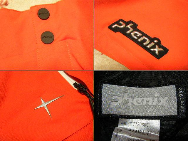 フェニックス phenix Norway Team Full Zipped スキー用高機能高性能パンツ 赤色 サイズ L レース仕様 保温、防水ストレッチ機能_画像6