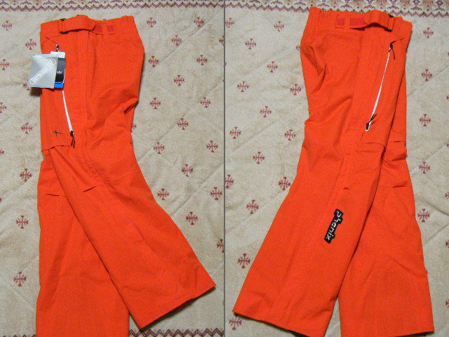 フェニックス phenix Norway Team Full Zipped スキー用高機能高性能パンツ 赤色 サイズ L レース仕様 保温、防水ストレッチ機能_画像2