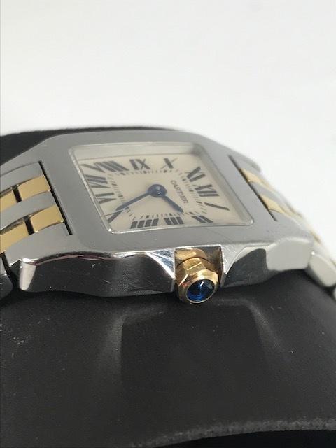 ★Cartier★カルティエ サントス ドゥ モワゼル 腕時計 レディース SM W25066Z6_画像2