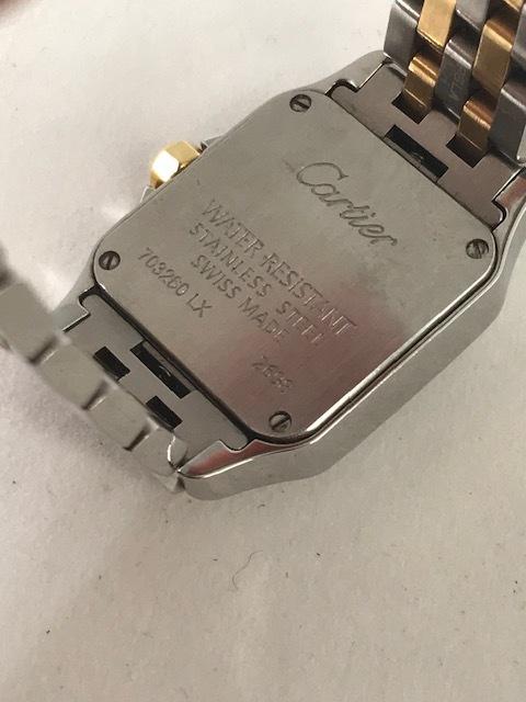 ★Cartier★カルティエ サントス ドゥ モワゼル 腕時計 レディース SM W25066Z6_画像6