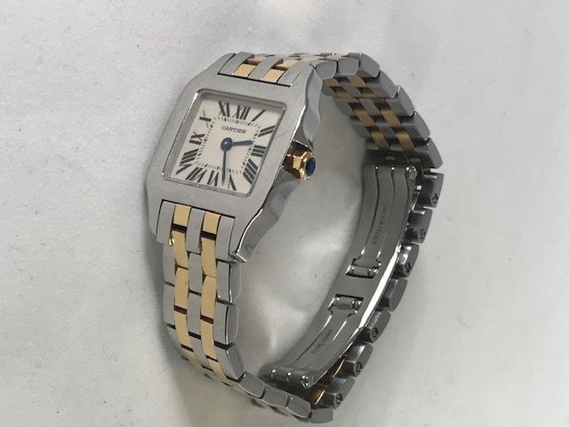 ★Cartier★カルティエ サントス ドゥ モワゼル 腕時計 レディース SM W25066Z6_画像5