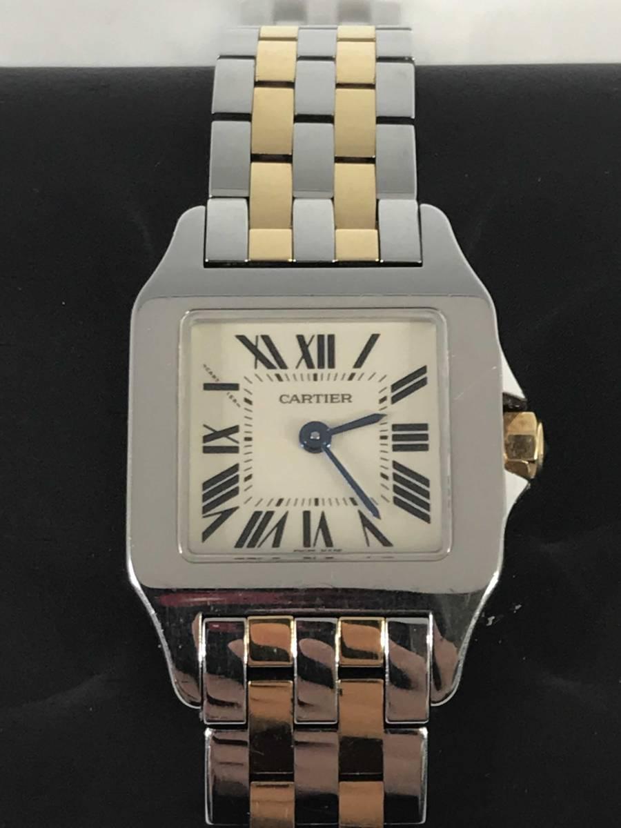 ★Cartier★カルティエ サントス ドゥ モワゼル 腕時計 レディース SM W25066Z6_画像1