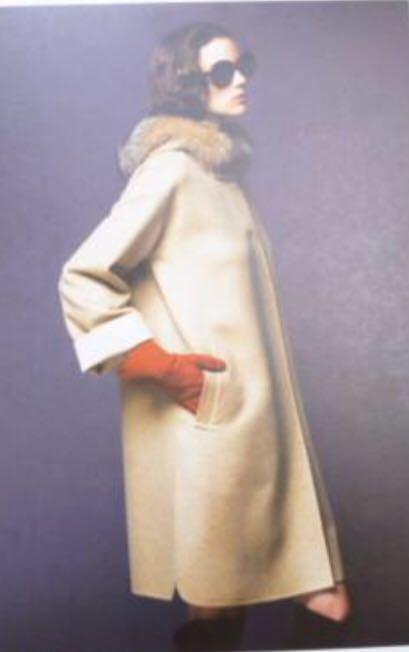 【新品同様】FOXEY フォクシー 最高級 カシミヤ フォックス 毛皮 ファー コート 雑誌掲載